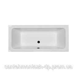 MODO прямоугольная ванна 180*80см, центральный слив, с ножками SN7