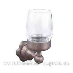 ANTIGUE brass стакан  с держателем