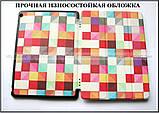 Кольорові кубики чохол книжка Huawei Mediapad M3 10 lite BAH-L09 BAH-W09, модель TFC Color Blocks, фото 2