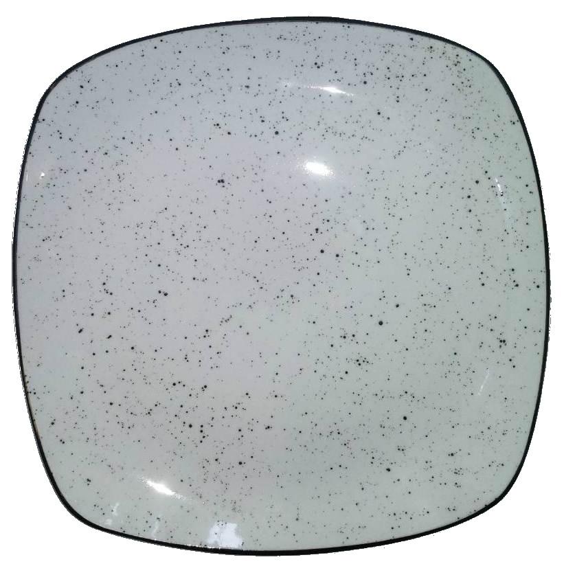 Тарелка квадратная подставная 270мм Farn Мрамор 9091ST