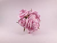 Букет роз из фоамирана(латекса). Цвет розовый
