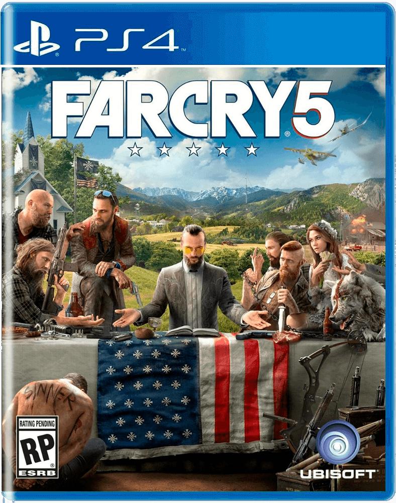 Игра PS4 Far Cry 5 для PlayStation 4