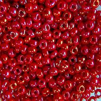 Чешский бисер для рукоделия Preciosa (Прециоза) оригинал 50г 33119-94210-10 Красный