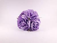 Букет роз из фоамирана(латекса). Цвет сиреневый, фото 1