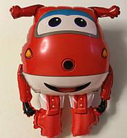 """Фольгированный шар """"Джетт супер крылья"""", красный"""