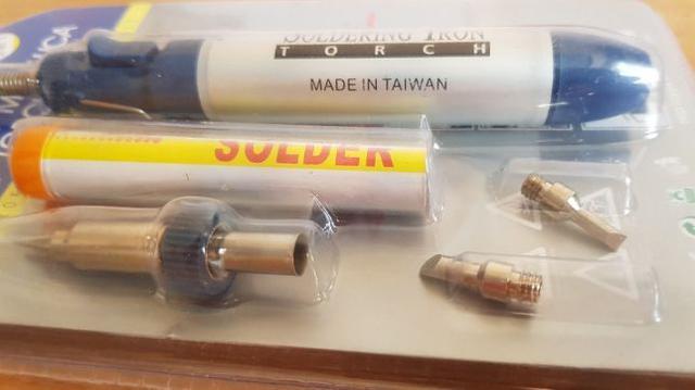Портативний газовий паяльник 3 в 1 YJ230