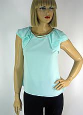 блузка без рукавів з рюшами на плечах Esay, фото 3