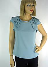 блузка без рукавів з рюшами на плечах Esay, фото 2