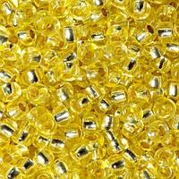 Чешский бисер для рукоделия Preciosa (Прециоза) оригинал 50г 33119-08283-10 Желтый