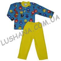 Детская пижама Комби на рост 86-92 см - Начёс