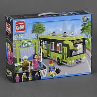 Конструктор Brick Enlighten 1121 Автобусная остановка, 420 дет, в коробке