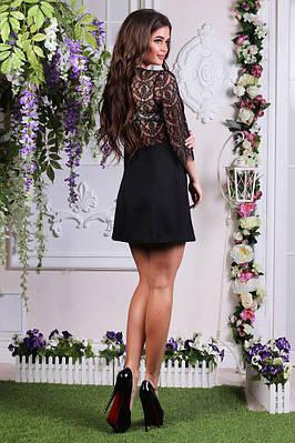 Нарядное платье спинка кружево