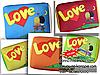 Подушка Love is -  5 кольорів
