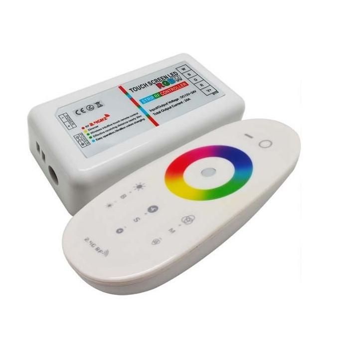 Контролер RGB+W Biom 24А-2.4 G-Touch білий