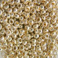Чешский бисер для рукоделия Preciosa (Прециоза) оригинал 50г 33119-18303-10 Золотистый