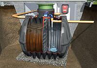 Автономная канализация для дома до 5 чел. Claro Easy Graf