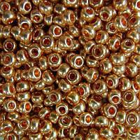 Чешский бисер для рукоделия Preciosa (Прециоза) оригинал 50г 33119-18184-10 Оранжевый