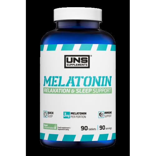 Витамины UNS Melatonin 3mg 90 tabs