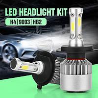Комплект LED лампы H4 - головного света ― альтернатива ксенону в рефлекторную оптику
