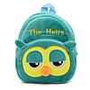 Рюкзак детский плюшевый Сова, фото 6