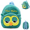 Рюкзак детский плюшевый Сова, фото 2