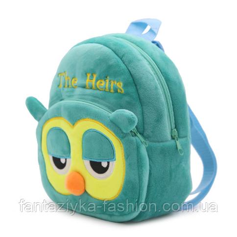 Рюкзак детский плюшевый Сова