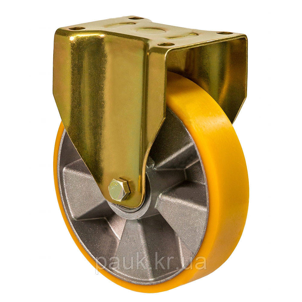 """Колесо неповоротне серія 56 """"Medium Top"""" посилене з кріпильною панеллю, діаметр -175мм"""