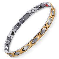 Магнитный браслет женский ПентАктив позолоченый медицинская высокого качества, фото 1