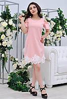 Полусилуэтное платье