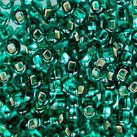 Чешский бисер для рукоделия Preciosa (Прециоза) оригинал 50г 33129-57710-33 Бирюзовый