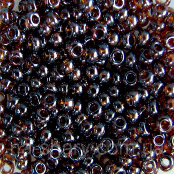 Чешский бисер для рукоделия Preciosa (Прециоза) оригинал 50г 33119-16140-10 Янтарный