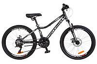 Подростковый велосипед Optima Blackwood 24 DD