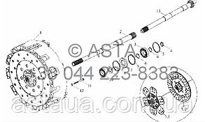 Механизм Сцепление на YTO-X704