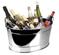 62273 Ведро для шампанского Lacor, н/ж (61х43 см)