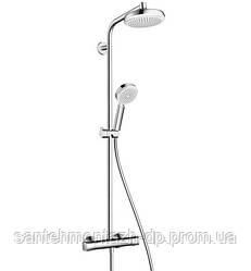 Crometta 160 Showerpipe Душевая система с термостатом