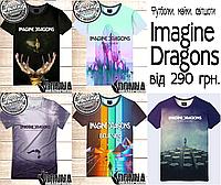 Футболки 3D Imagine Dragons, фото 1