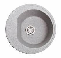 Кухонна мийка гранітна КЛАСИК сіра
