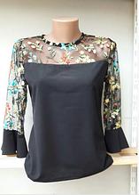 Блуза женская модель №769-2, размеры 44-46,48-50,52