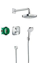 ShowerSet Croma Select E/Ecostat E Душевой набор (верхний, ручной душ, ibox, термостат)