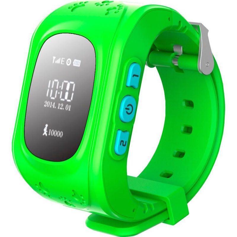 Детские умные GPS часы Q50 green (SBWQ50G)