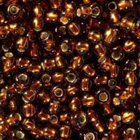 Чешский бисер для рукоделия Preciosa (Прециоза) оригинал 50г 33119-17110-10 коричневый