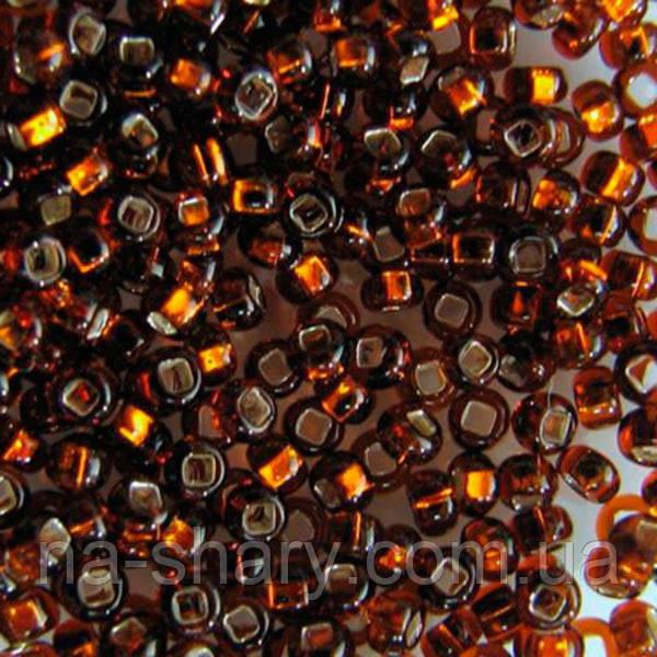 Чешский бисер для рукоделия Preciosa (Прециоза) оригинал 50г 33129-17110-10 коричневый