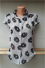 Блуза женская модель №771 размеры 44,46,48