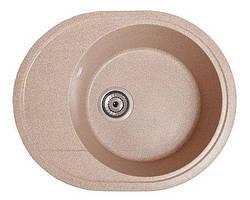 Кухонна мийка гранітна КОМФІ рожевий
