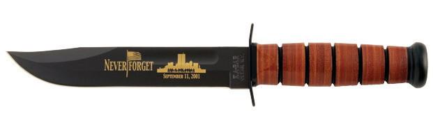 "9165 Нож KA-BAR ""USMC 9/11 Commemorative"" дл.клинка 17,78 см."