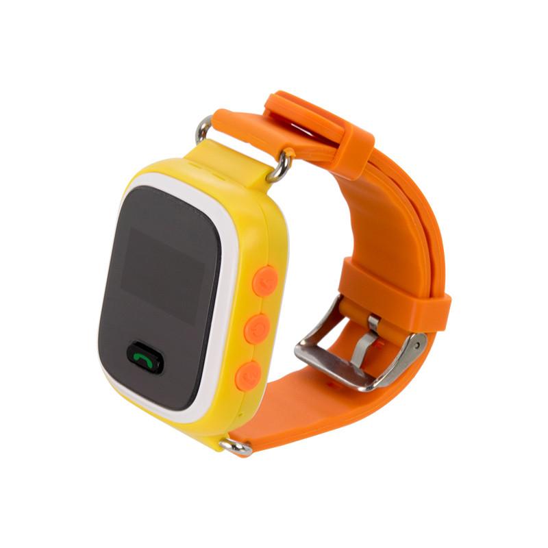 Детские смарт-часы Q60 с GPS Оранжевые (11051)