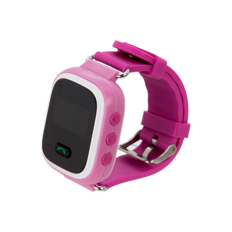 Детские смарт-часы Q60 с GPS Розовые (11053)