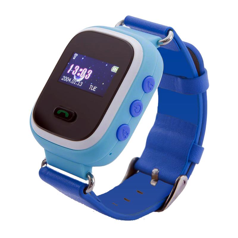 Детские смарт-часы Q60 с GPS Голубые (11052)