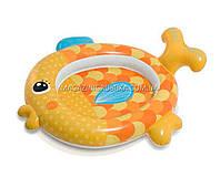 Детский бассейн для улицы и пляжа «Золотая рыбка» 57111NP
