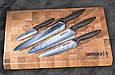 Набор из 4-х кухонных ножей, Samura Golf (SG-0240), фото 3